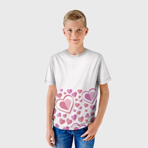 Детская футболка 3D Нежность и страсть Фото 01