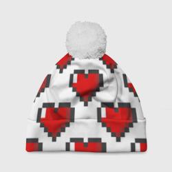 Пиксельные сердечки