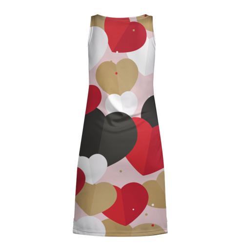 Платье-майка 3D Пылания страсти