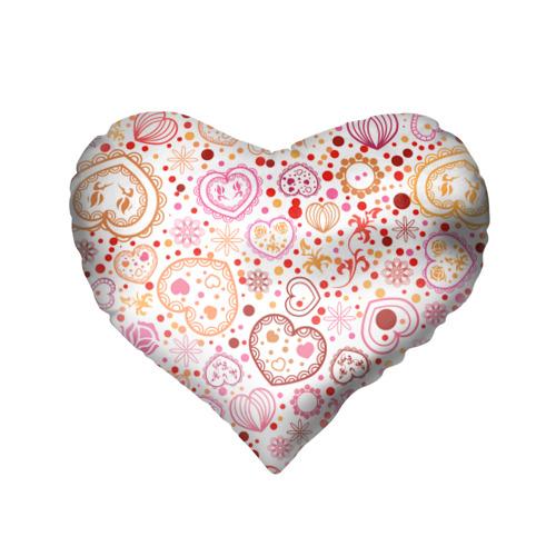 Подушка 3D сердце  Фото 02, Нежность