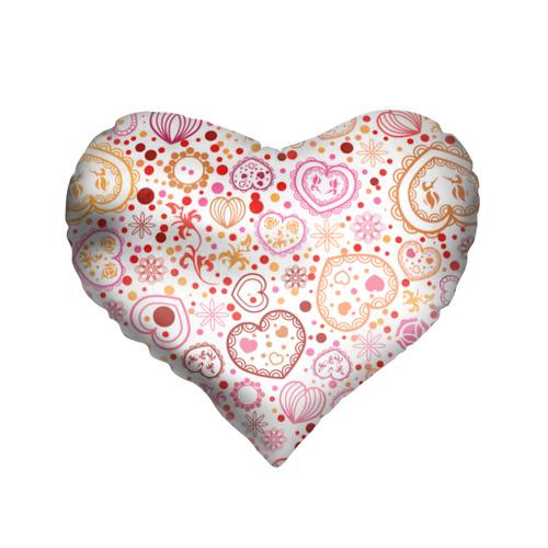 Подушка 3D сердце  Фото 01, Нежность