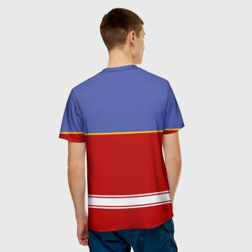 Мужская футболка 3D Хоккеист Арсений Фото 01
