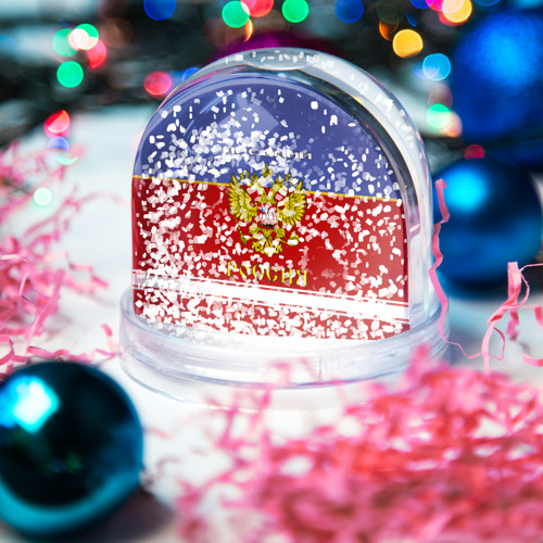 Водяной шар со снегом  Фото 04, Хоккеист Арсений