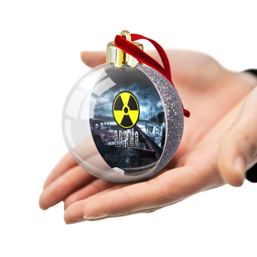 Ёлочный шар с блестками  Фото 03, S.T.A.L.K.E.R. - А.Р.И.Н.А.