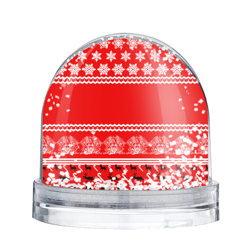 Водяной шар со снегом  Фото 02, Праздничный Queen