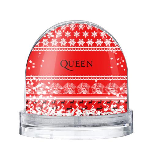 Водяной шар со снегом  Фото 01, Праздничный Queen