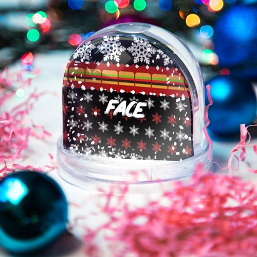 Водяной шар со снегом  Фото 03, Праздничный Face