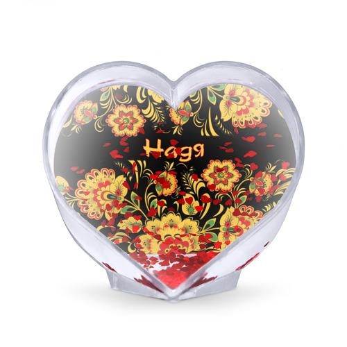 Сувенир Сердце  Фото 02, Надя, роспись под хохлому