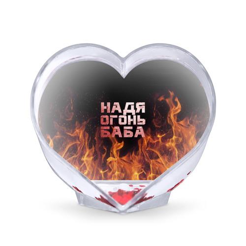 Сувенир Сердце  Фото 01, Надя огонь баба