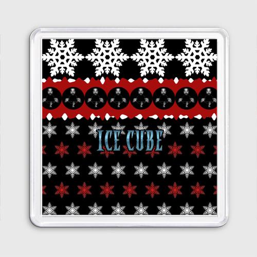 Магнит 55*55  Фото 01, Праздничный Ice Cube