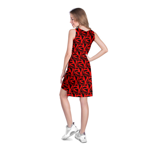 Платье-майка 3D VERSUS BATTLE RED Фото 01