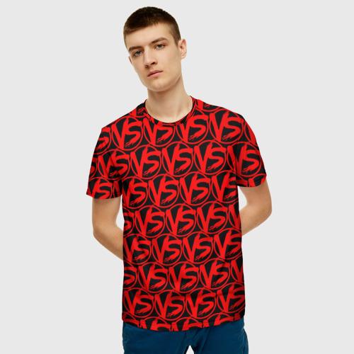 Мужская футболка 3D VERSUS BATTLE RED Фото 01