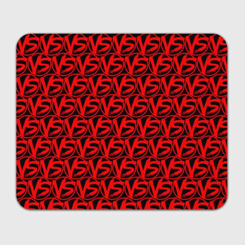 Коврик для мышки прямоугольный VERSUS BATTLE RED Фото 01