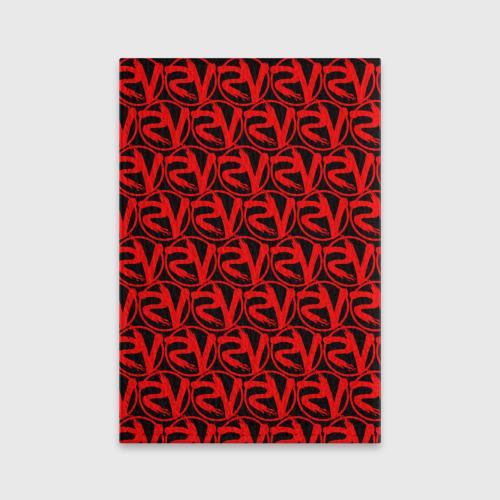 Обложка для паспорта матовая кожа VERSUS BATTLE RED Фото 01
