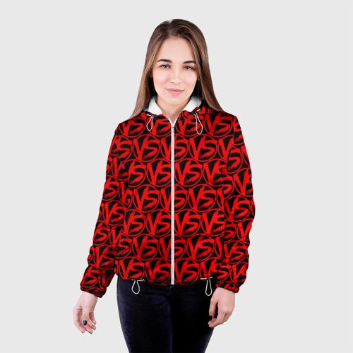 Женская куртка 3D VERSUS BATTLE RED Фото 01