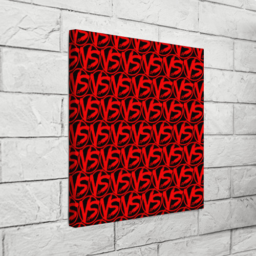 Холст квадратный VERSUS BATTLE RED Фото 01