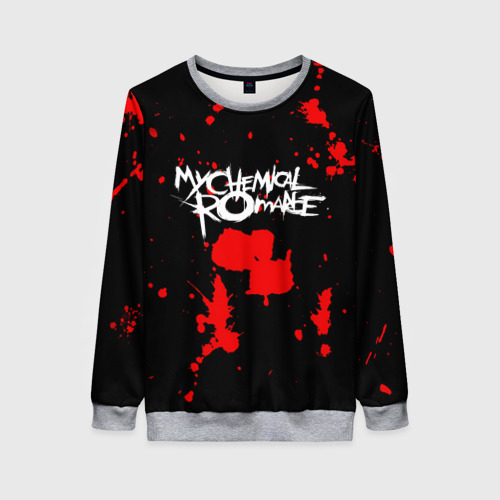 Женский свитшот 3D My Chemical Romance Фото 01