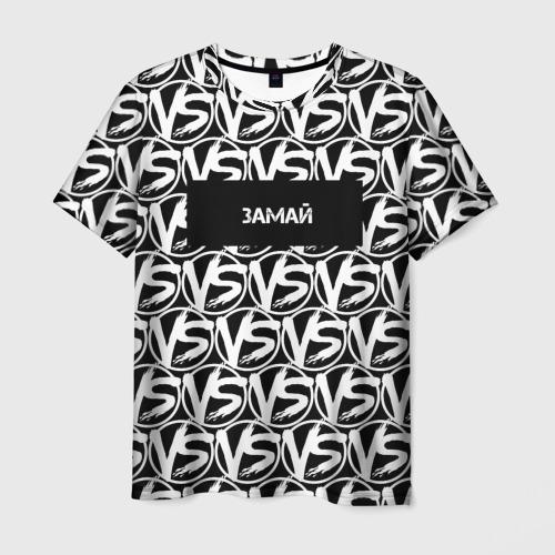 Мужская футболка 3D VERSUS BATTLE-ЗАМАЙ Фото 01