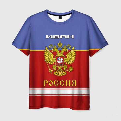 Мужская футболка 3D  Фото 03, Хоккеист Иван