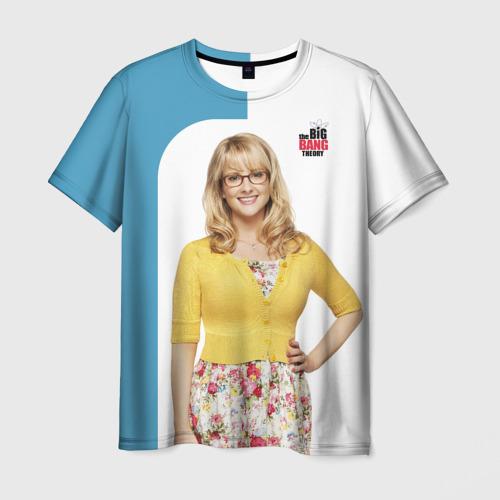 Мужская футболка 3D Bernadette Фото 01