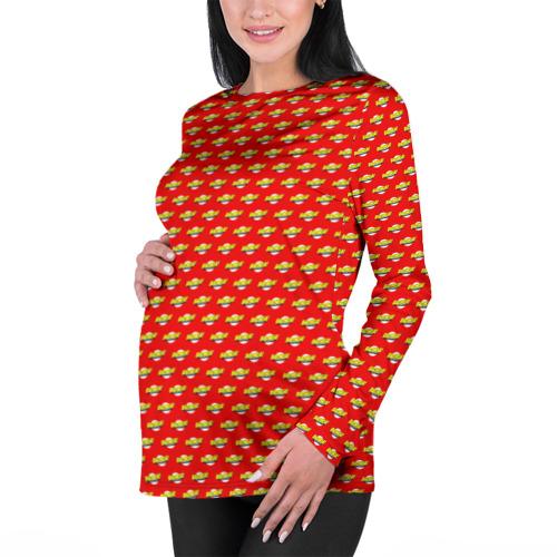 Женский лонгслив 3D для беременных  Фото 01, Bazinga!