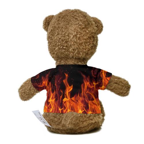 Миша в футболке 3D BITCOIN   FIRE Фото 01