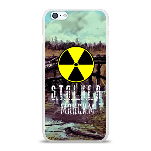 Чехол для Apple iPhone 6Plus/6SPlus силиконовый глянцевый  Фото 01, S.T.A.L.K.E.R МАКСИМ