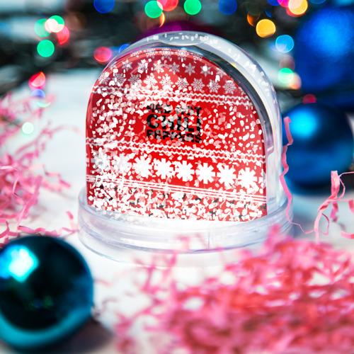 Водяной шар со снегом  Фото 04, Праздничный RHCP