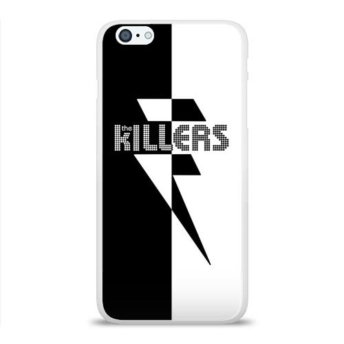 Чехол для Apple iPhone 6Plus/6SPlus силиконовый глянцевый  Фото 01, The Killers