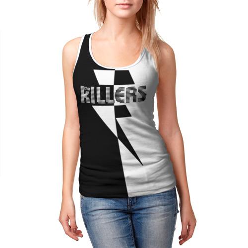 Женская майка 3D  Фото 03, The Killers