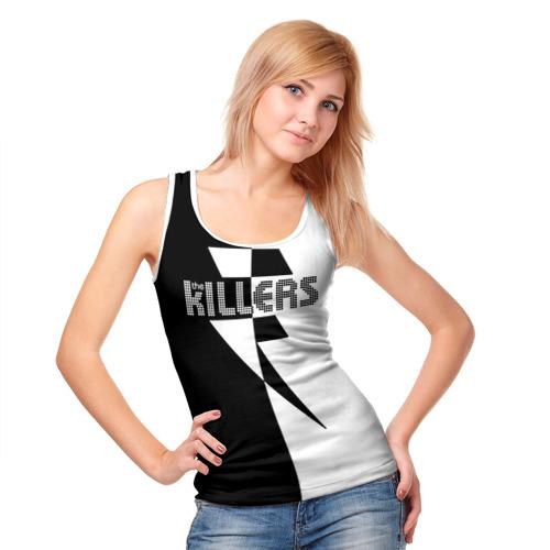 Женская майка 3D  Фото 05, The Killers