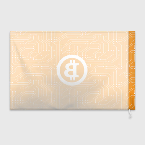 Флаг 3D  Фото 02, BITCOIN