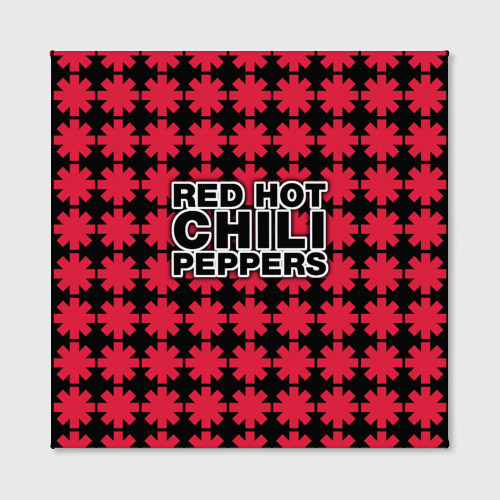 Холст квадратный  Фото 02, Red Hot Chili Peppers