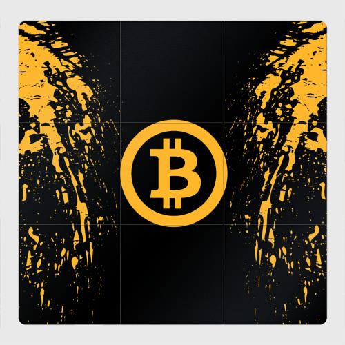 Магнитный плакат 3Х3 BITCOIN