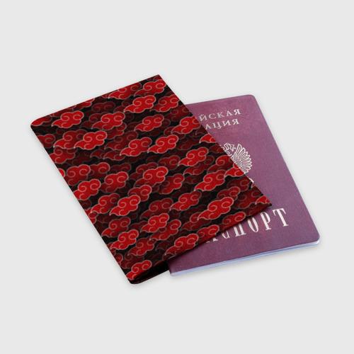 Обложка для паспорта матовая кожа Akatsuki Фото 01