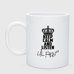 Keep calm and listen Lil Peep