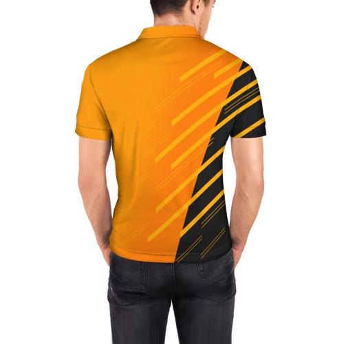 Мужская рубашка поло 3D  Фото 04, BITCOIN
