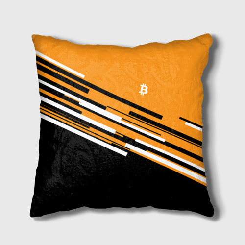Подушка 3D  Фото 01, BITCOIN