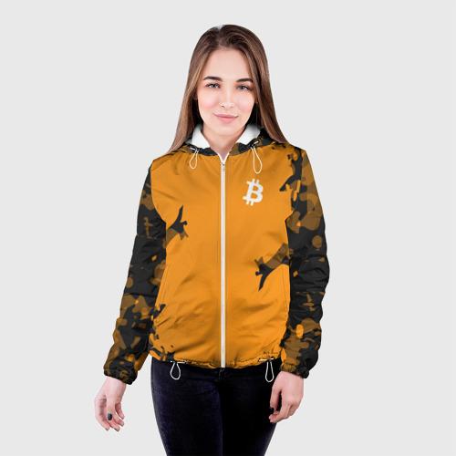 Женская куртка 3D  Фото 03, BITCOIN