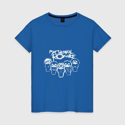 Женская футболка хлопок My Chemical Romance Фото 01