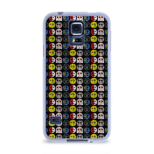 Чехол для Samsung Galaxy S5 силиконовый  Фото 01, Hollywood Undead