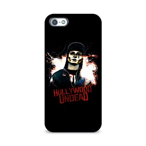 Чехол для Apple iPhone 5/5S 3D  Фото 01, Hollywood Undead