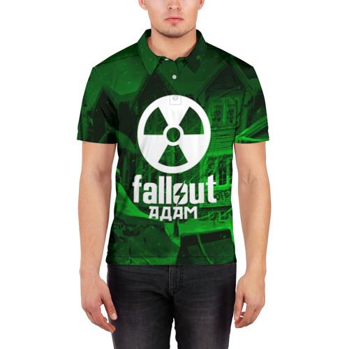 Мужская рубашка поло 3D  Фото 03, FALLOUT АДАМ