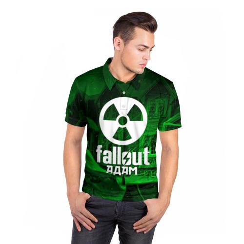 Мужская рубашка поло 3D  Фото 05, FALLOUT АДАМ