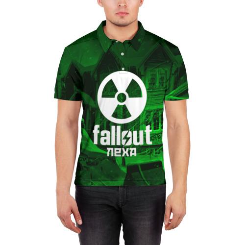 Мужская рубашка поло 3D  Фото 03, FALLOUT ЛЕХА