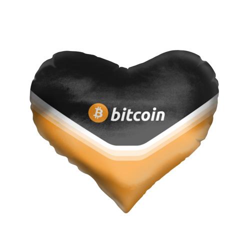 Подушка 3D сердце  Фото 01, BITCOIN