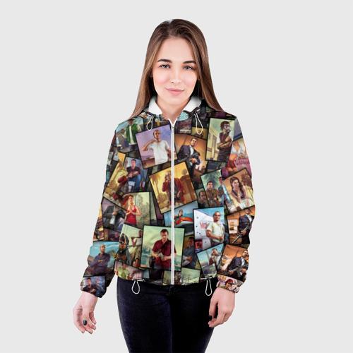Женская куртка 3D  Фото 03, GTA