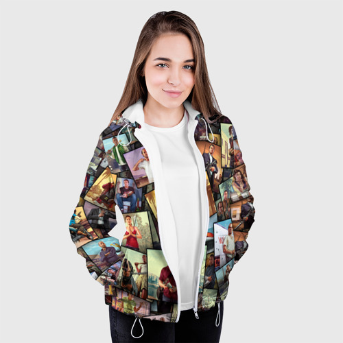 Женская куртка 3D  Фото 04, GTA