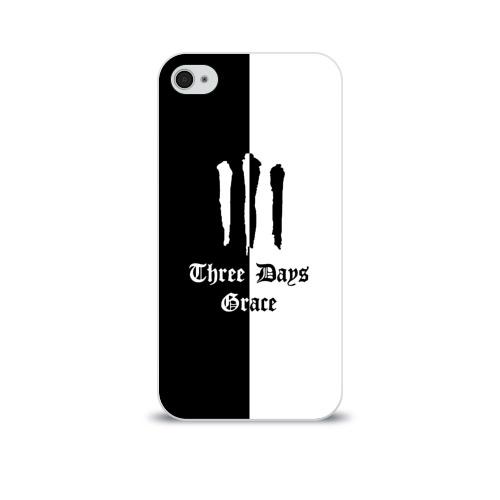 Чехол для Apple iPhone 4/4S soft-touch  Фото 01, Three Days Grace
