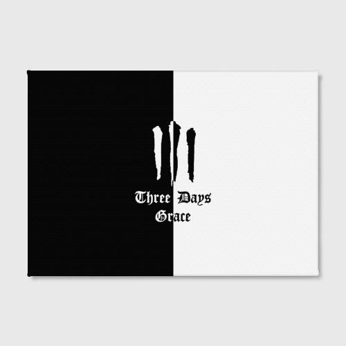 Холст прямоугольный  Фото 02, Three Days Grace